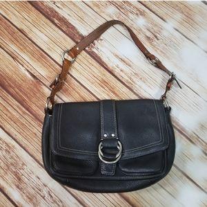 Coach Vintage Leather Purse Shoulder Bag Y2K 2000s